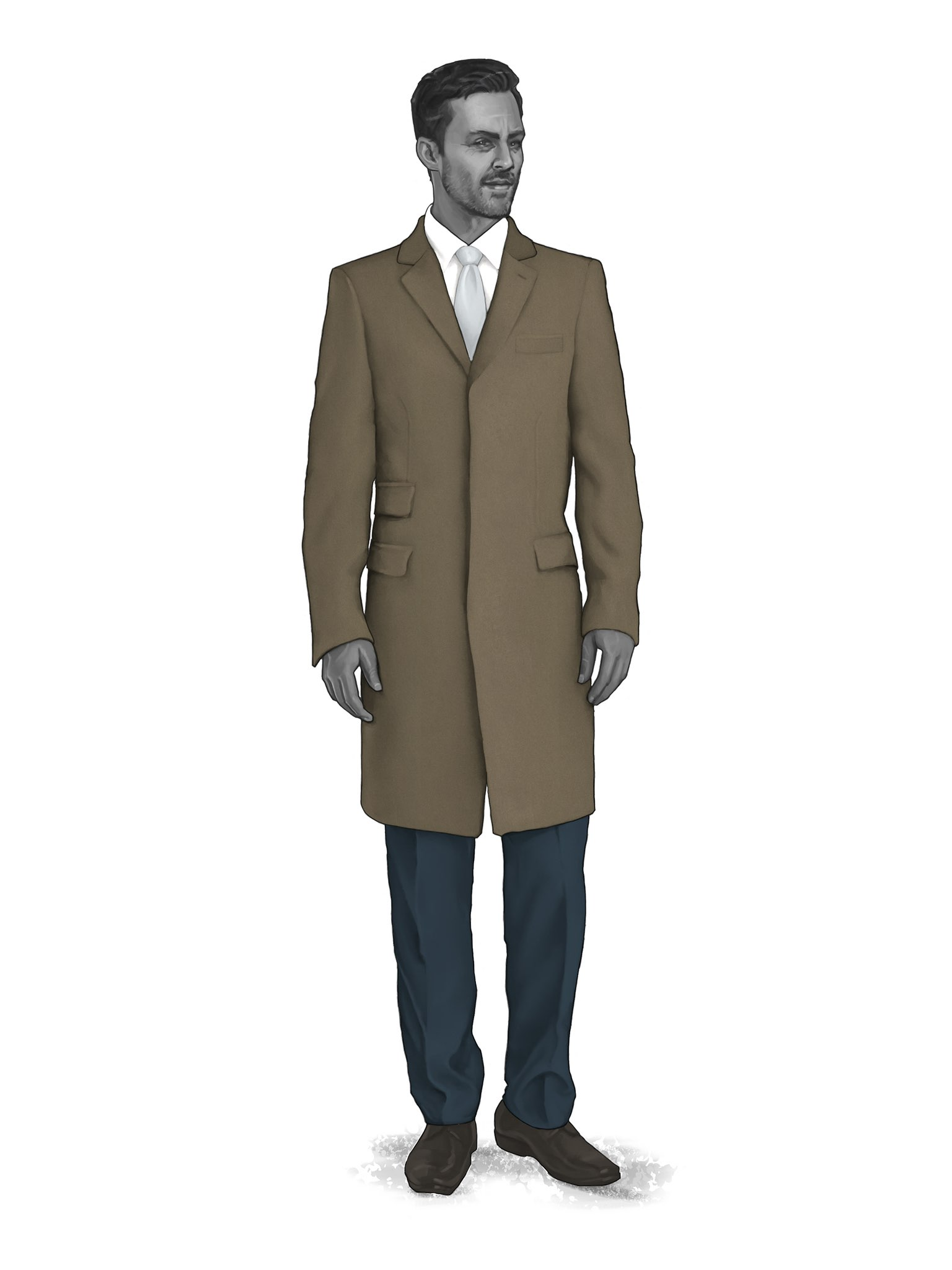 CONTEMPORARY OVERCOATS 9819306